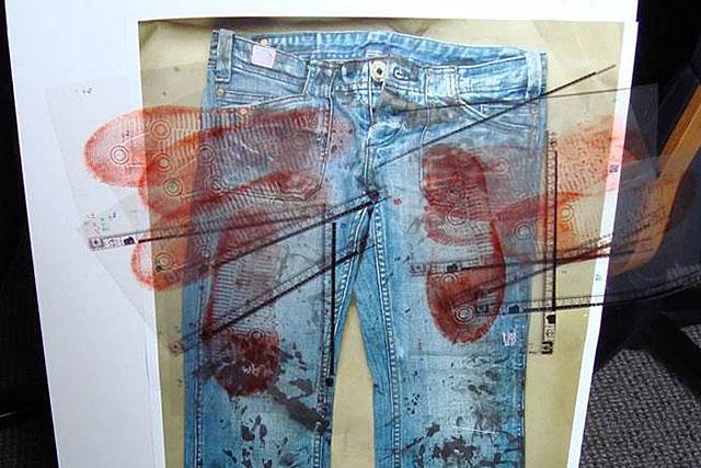 צילום המכנסיים