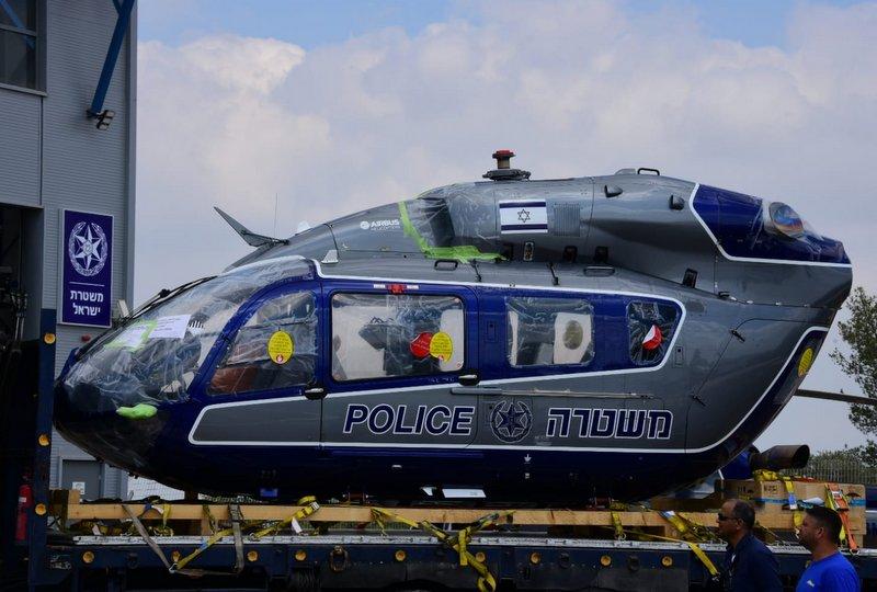Новый полицейский вертолет Airbus H145